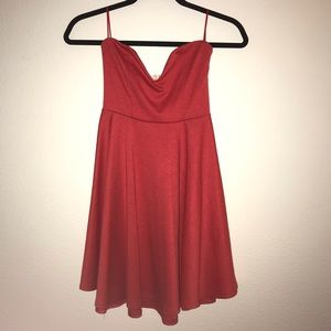 Urban Outfitters Mini Strapless Dress